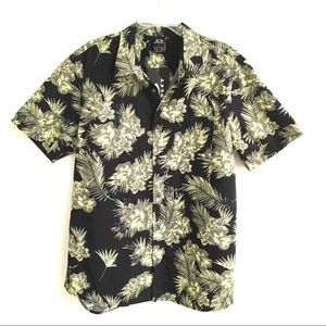 NWT Oakley Hawaiian lime print shirt XL